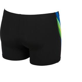 arena Iridiscent Shorts Men black-lily yellow